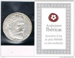 Medalla Acuñaciones Ibericas GAUDI. Reus Barcelona. Plata 999. Ag - Non Classés