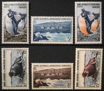 TAAF 1956 - Du N° 2 Au N° 7 - 6 Timbres NEUFS** - Parfait Etat - Neufs