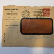 FRANCE - Env Avec Timbre Perforé - 1928 - P21406 - Perforés