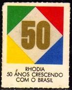 11531 Cinderela Brasil Propaganda Da Rhodia 50 Anos - Cinderellas