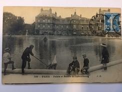 FRANCE - Carte Postale Avec Timbre Perforé - Pas Courant En Envoi Privé - 1922 - P21408 - Perforés