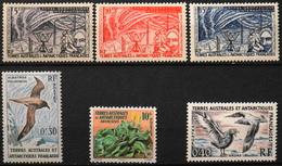 TAAF 1957/63 - Du N° 8 Au N° 13 - 6 Timbres NEUFS** - Parfait Etat - Neufs