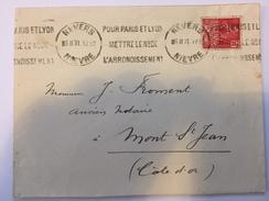 FRANCE - Env Avec Timbre Perforé - 1931 - P21411 - Perforés