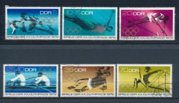 DDR/East Germany/Allemagne Orientale 1972 Mi: 1753-1758 Yt: 1440-1445 (Gebr/used/obl/o)(1874) - Used Stamps