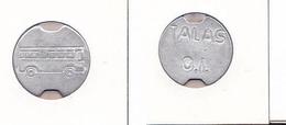 AC - TRANSPORT TOKEN TALAS BUS COMPANY RARE ALUMINUM TOKEN JETON - Monetary /of Necessity