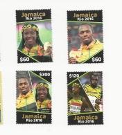 Jamaica  2016 Olympoics Set Mnh - Jamaica (1962-...)