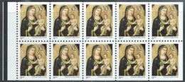 US  1995  Sc#3003a   32c Madonna Booklet Pane Of 10  MNH**  Face $3.20 - United States
