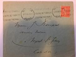 FRANCE - Env Avec Timbre Perforé - 1930 - P21415 - Perforés