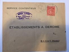 FRANCE - Env Avec Timbre Perforé - 1930 - P21416 - Perforés