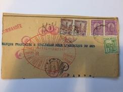 Fragment Avec Timbres Perforés D'Algérie Française - 1933 - P21420 - Perforés