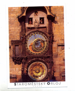 Carte Horloge Prague Cachet - Tschechische Republik