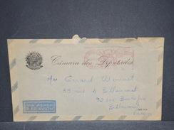 BRÉSIL - Enveloppe De La Chambre Des Députés Pour La France En 1972 , Affranchissement Mécanique - L 6349 - Cartas
