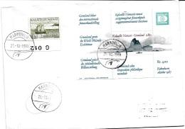 30955 -  Enveloppe Avec Cachets à Date Illustré De Marmorilik 1990 - Groenland