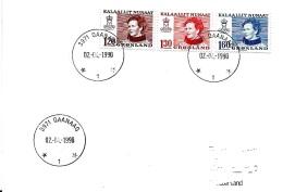 30956 -  Enveloppe Avec Cachets à Date  De Qaanaaq 1990 - Groenland