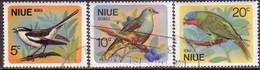 NIUE 1971 SG 158-60 Compl.set Used Birds
