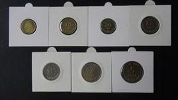 Croatia - 1995-2003 - 5,10,20,50 Lipe + 1,2,5 Kuna - KM 5-6,17,8,9.1,10-11 - VF - Look Scans - Croatia