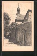 Künstler-AK Otto Ubbelohde: Fulda, Partie Am Kloster Frauenberg - Ubbelohde, Otto