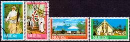 NIUE 1974 SG 186-89 Compl.set Used Self-Government