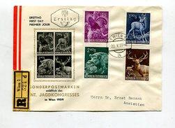 Oesterreich / 1959 / Mi. 1062-1065 FDC (0429) - FDC