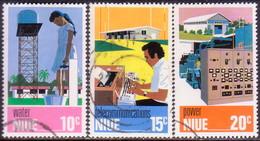 NIUE 1976 SG 208-10 Compl.set Used Utilities