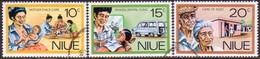 NIUE 1977 SG 216-18 Compl.set Used Personal Services