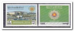 Myanmar 2014, Postfris MNH, CHAIRMAN OF ASEAN - Myanmar (Birma 1948-...)