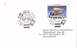 23740. Carta TAMPERE (Finland) Finlandia 1988.  EFTA, Europa - Finlandia