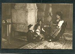 CPA - EN ALSACE RECONQUISE - La Petite Famille écoute Avec Admiration L'histoire Des Héros Français - War 1914-18