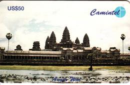 Kambodscha - Cambodia - Cambodge - Rare Camintel-Chip-card = 50 Dollar