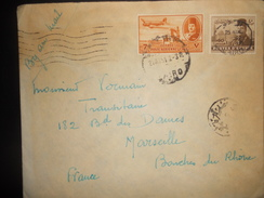 Egypte Lettre De Cairo 1951 Pour Marseille - Poste Aérienne
