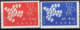 GREECE # FROM 1961  STAMPWORLD 757-58** - Greece