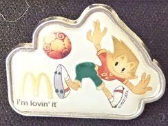 Pin Mc Donalds. Football Euro 2004 - Portugal  Fútbol Euro Futebol - McDonald's