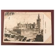 Seville  La Cathédrale  Edition De La Chocolaterie D' Aiguebelle     Précurseur - Sevilla (Siviglia)