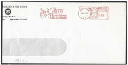 Stati Uniti/United States/États-Unis: EMA, Meter, Babbo Natale E Renna, Santa Claus And Reindeer, Père Noël Et La Renne - Noël