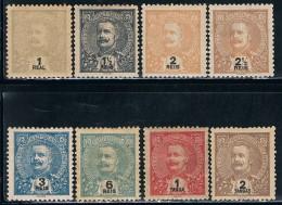 India, 1903, # 185/92, MH And MHNG - India Portuguesa