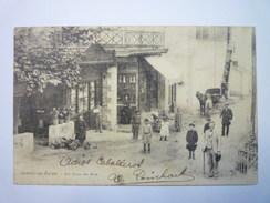 CAMBO-les-BAINS  :  Un Coin De Rue  -  Belle Animation  1902   - Cambo-les-Bains