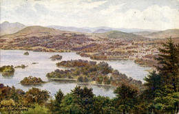 AR QUINTON - SALMON ART 1485 - BELLE ISLE & BOWNESS WINDERMERE - Quinton, AR