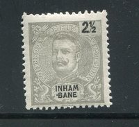 INHAMBANE- Y&T N°15- Neuf Avec Charnière * - Inhambane