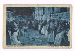 Mur Des Juifs Un Pendredi - The Jews Walling Place A Friday - Israel - Israel