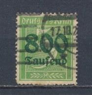 Duitse Rijk/German Empire/Empire Allemand/Deutsche Reich 1923 Mi: 301A Yt: 273 (Gebr/used/obl/o)(1877) - Duitsland