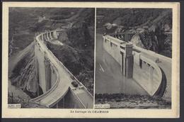 Le Barrage Du Chambon - 38 - Avril 1935 En Constrution - Août 1935 - Mise En Eau - Cliché Oddoux Grenoble - B/TB - - Other Municipalities
