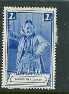 """R T D Bashkir Folk Dancer Label Reklamemarke Poster Stamp Vignette No Gum 1 X 1 1/2"""" - Cinderellas"""