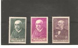 FRANCE   N° 377/78 NEUF*  VALEUR   15 €       DE1938 - France