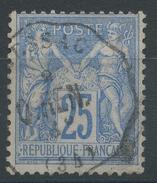 Lot N°35742   N°78, Oblit Cachet à Date Convoyeur Station à Numéro MESSAC (34) - 1876-1898 Sage (Type II)