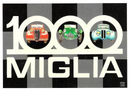 [MD0890] CPM - RIPRODUZIONE - PUBLICARD 1035 - XXVI MILLE MIGLIA STORICA - BRESCIA FERRARA ROMA BRESCIA 2008 - NV - Motorsport