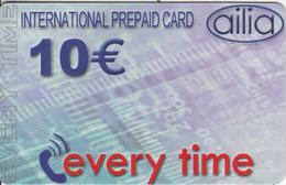 GREECE - Every Time, Amimex Prepaid Card 10 Euro, Sample - Greece