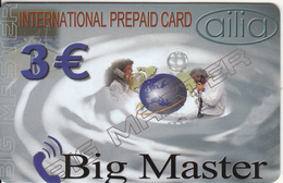 GREECE - Big Master, Amimex Prepaid Card 3 Euro, Sample - Greece