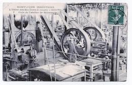 MONTLUÇON  03  USINES DES MACHINES A COUDRE   HURTU  7  COIN DE L'ATELIER MÉCANIQUE - Montlucon