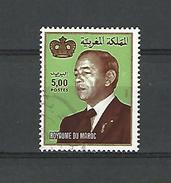 1995 N° 940 ROI  OBLITERE 2 SCANNE - Marokko (1956-...)