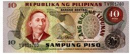 PHILIPPINES 10 PISO ND(1978) Pick 161b Unc - Philippines